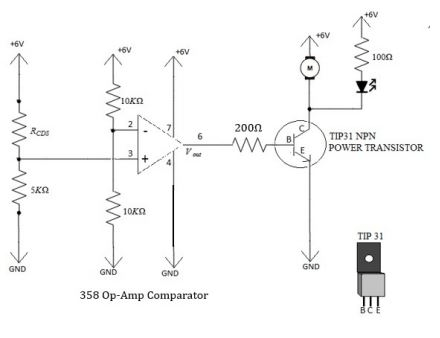 Solved: Determine IB, VBE, IC, And VCE During Ambient Ligh