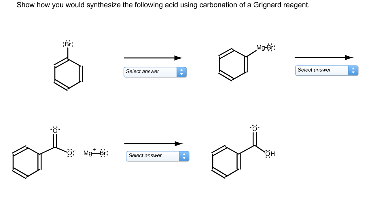 Solved: Show How You Would Synthesize The Following Acid U