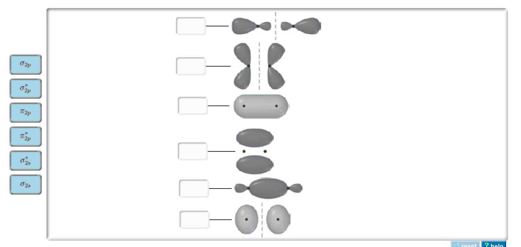 Solved: Sketch Each Molecular Orbital. Drag The Appropriat