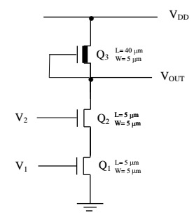 Solved: For The Standard NMOS 2-input NAND Gate, Determine
