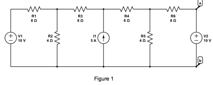 For The Circuit Shown In Figure 1, 2, And 3, Find