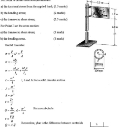 the sign in the diagram below experiences a wind p [ 1441 x 2046 Pixel ]