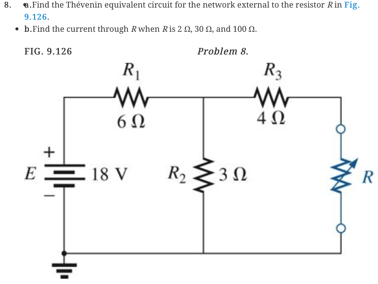 determine the thevenin equivalent circuit seen by cheggcom
