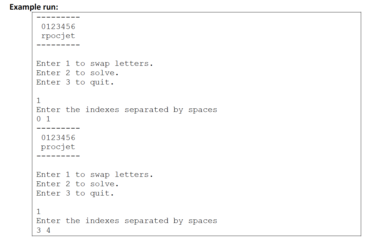Word Scrambler Ap Computer Science