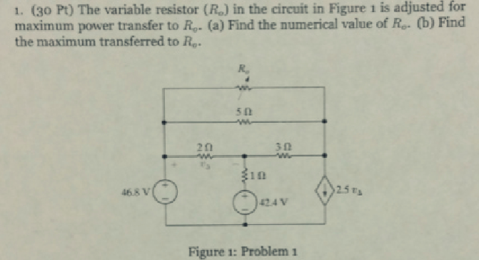 Variable Resistor Circuit