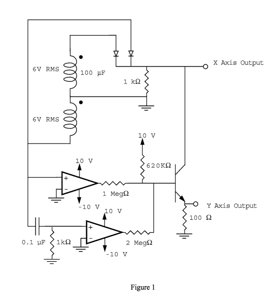 Solved: How To Modify Curve Tracer Circuit To Test Both Np