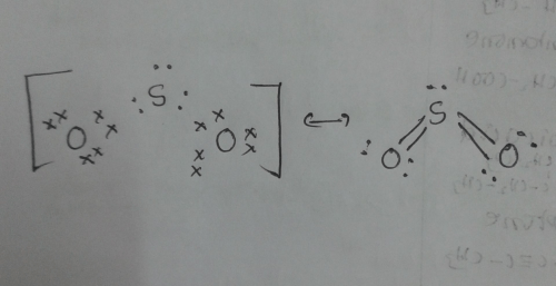 small resolution of solved lewis dot structure for so2 chegg com