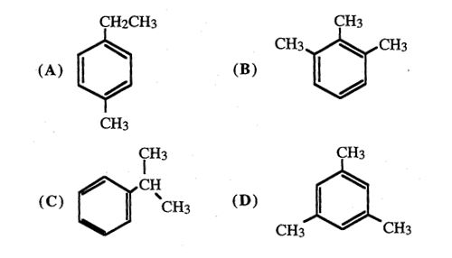 Solved: An Aromatic Compound, C9H12, Undergoes Free-radica