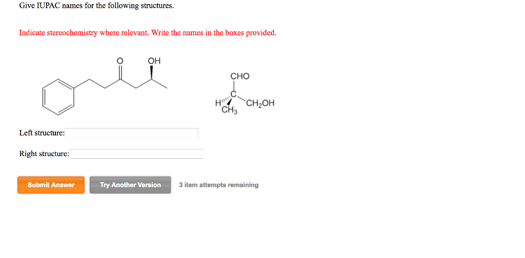 Solved: Give IUPAC Name For The Following Structures. Indi