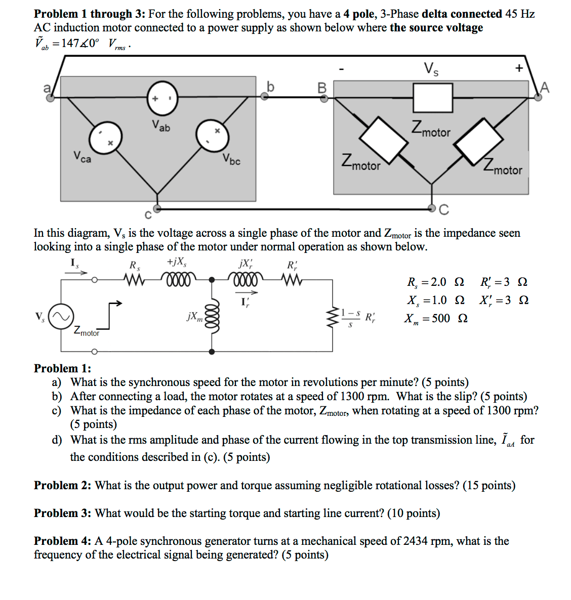hight resolution of for the following problems you have a 4 pole 3 p