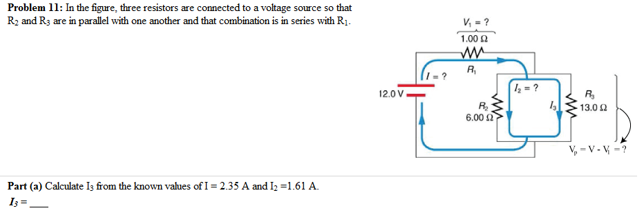 In The Figure, Three Resistors Are Connected To A