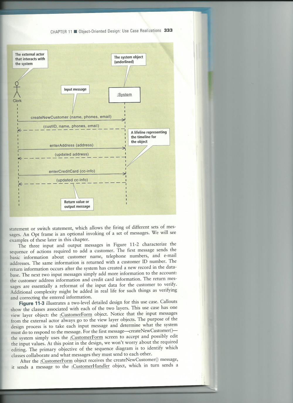 medium resolution of question figures 11 2 and 11 5 are sample sequence diagrams using those figures as an example develop a system for the university library for the use