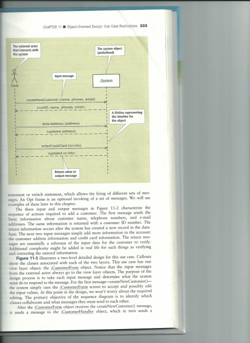 small resolution of question figures 11 2 and 11 5 are sample sequence diagrams using those figures as an example develop a system for the university library for the use