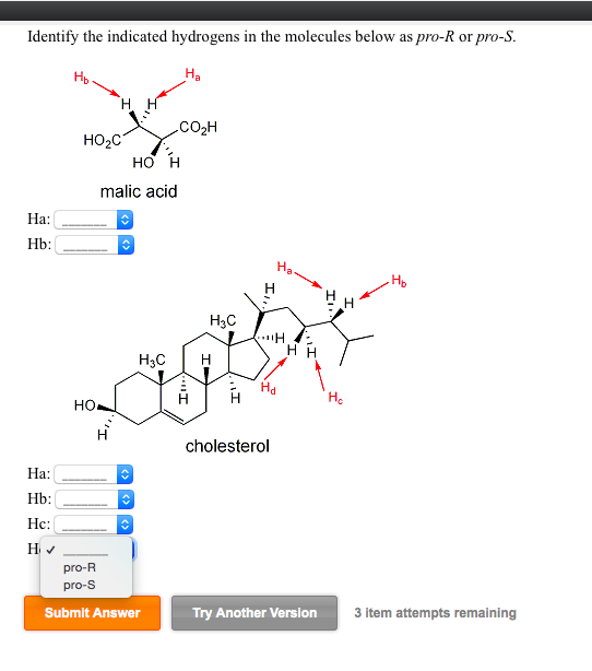 Solved: Identify The Indicated Hydrogens In The Molecules