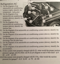solved refrigeration ac on the diagram of an automobile a home ac diagram auto mobile ac diagram [ 960 x 974 Pixel ]