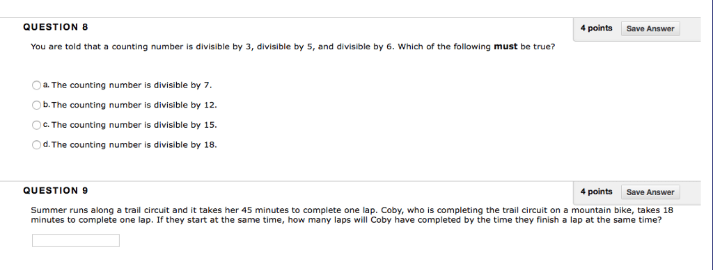 Solved: QUESTION 8 4 Points Save Answer You Are Told That