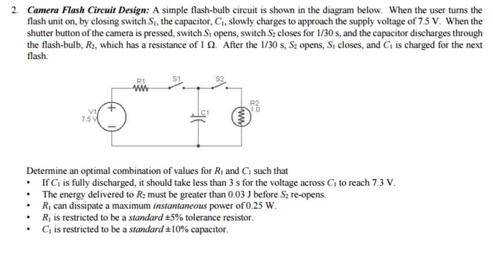 medium resolution of camera flash circuit design camera flash circuit design a simple flash bulb c