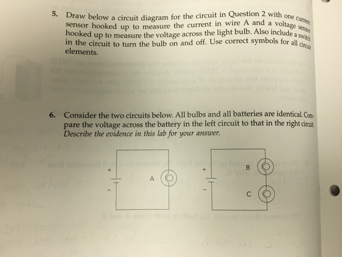Us First Draw A Diagram Of A Circuit With One Light Switch