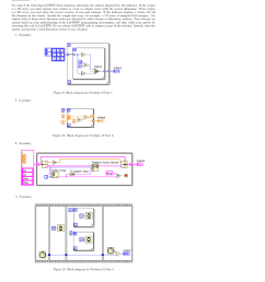 problem 12 25 points for each of the following labview block diagrams  [ 939 x 1024 Pixel ]