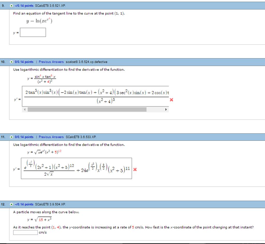 Calculus Archive