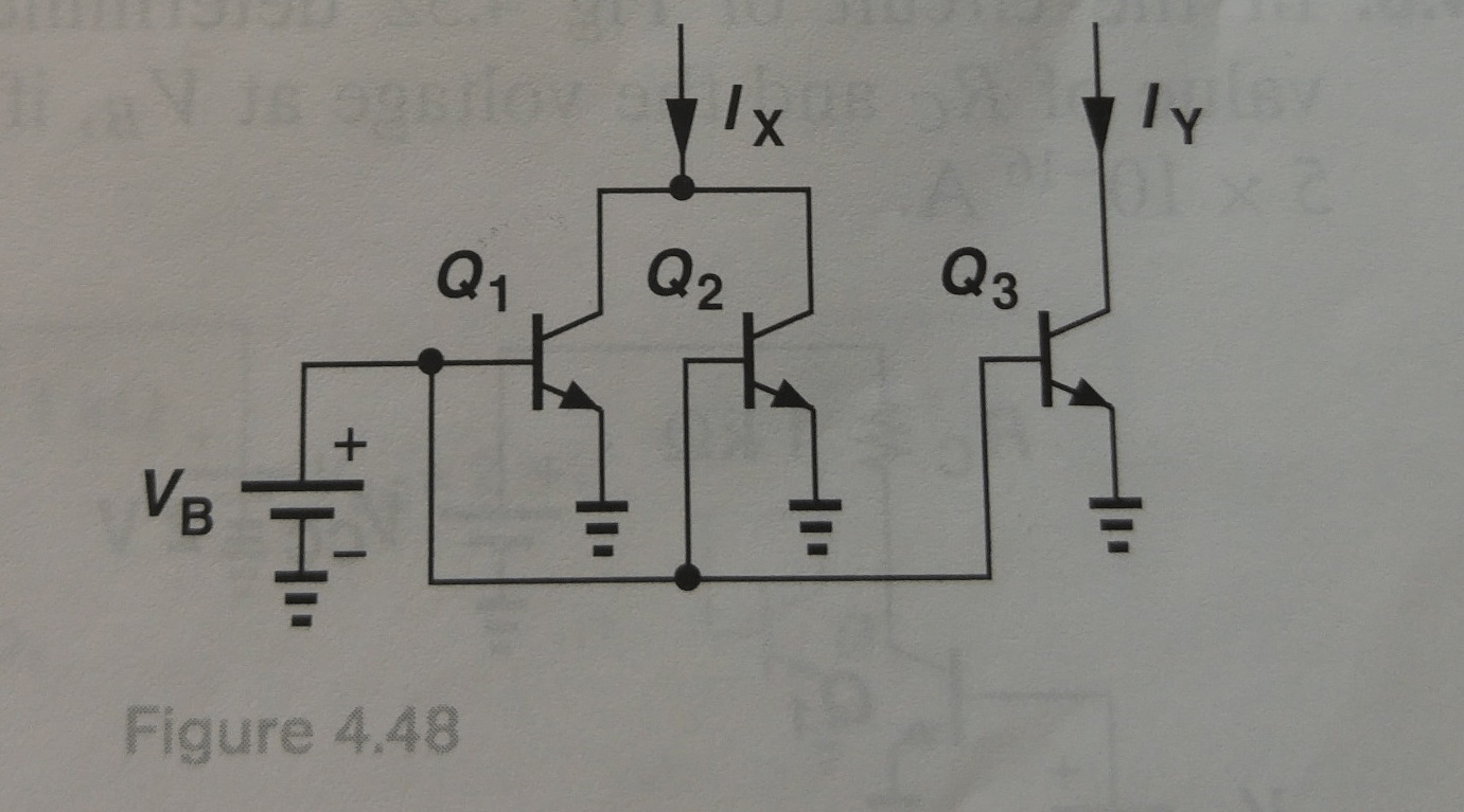 Solved: In The Circuit Of Fig. 4.48 , Is1=Is2 = 5 10-5 A A