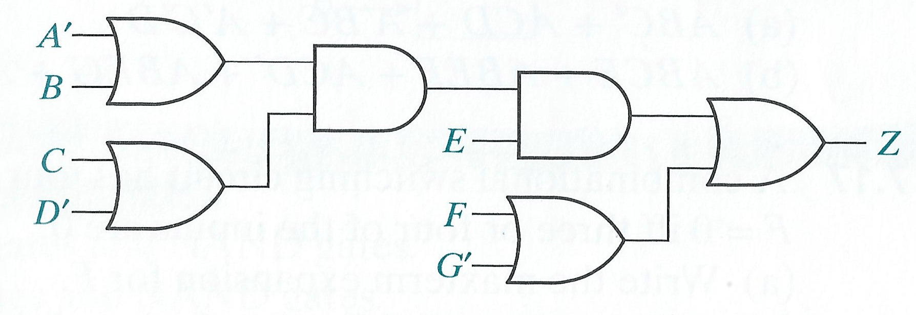 Solved: 1. Convert The Following Circuit To All NAND Gates