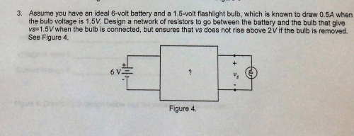 small resolution of assume you have an ideal 6 volt battery and a 1 5