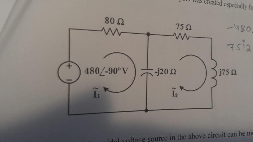 Complex Electric Circuit Rc Circuits In Polar Form