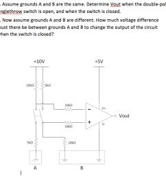 determine vout when the double [ 1008 x 980 Pixel ]