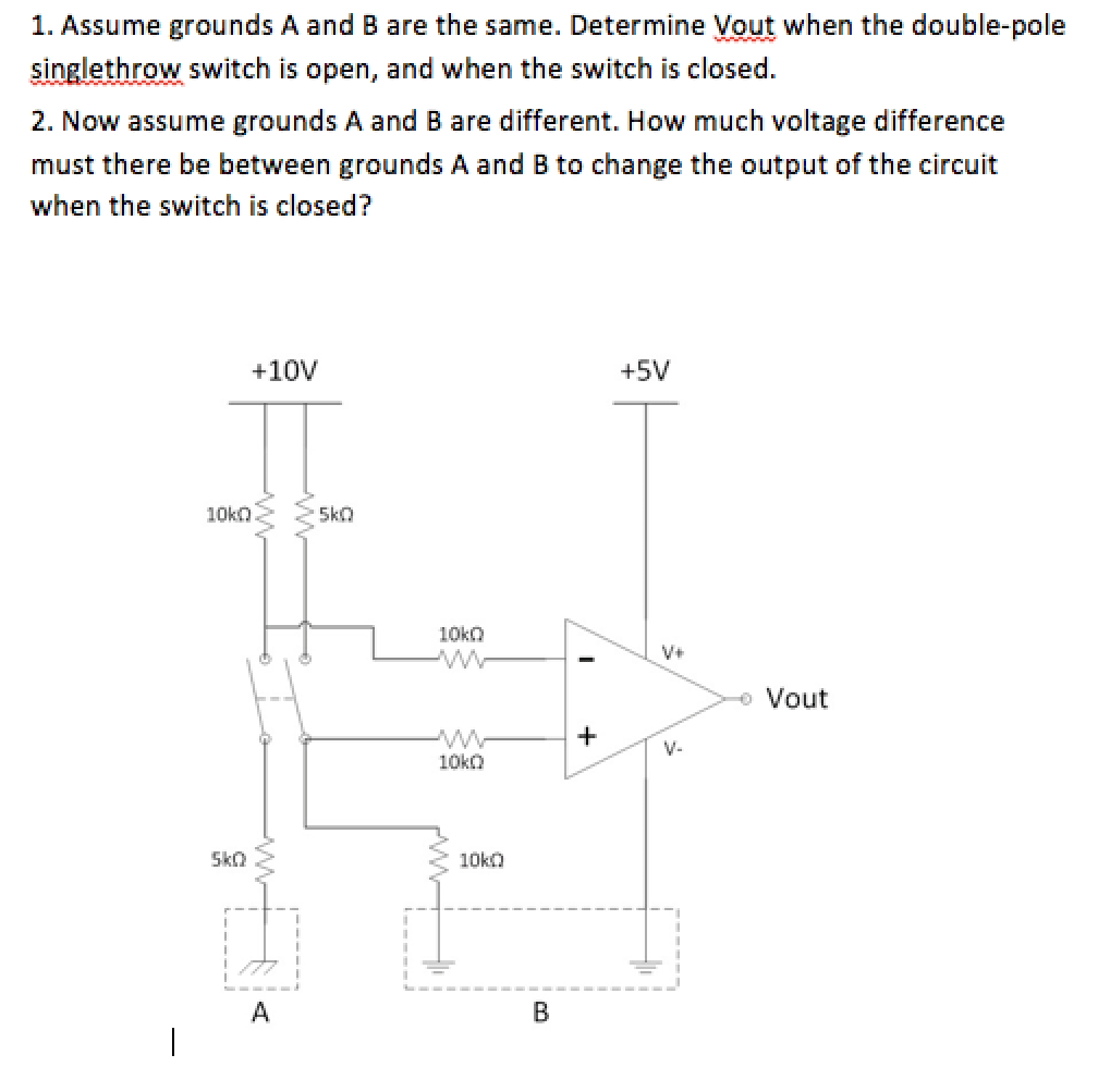 hight resolution of determine vout when the double