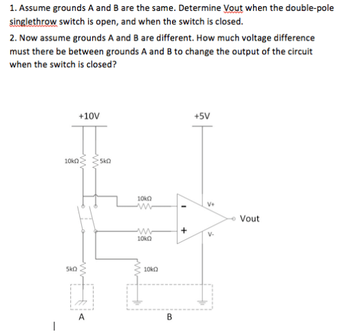small resolution of determine vout when the double