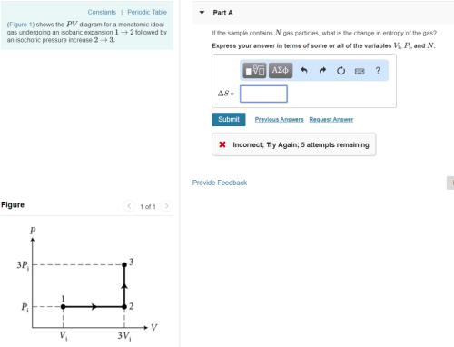 small resolution of part a constants periodic table figure 1 shows the pv diagram for a