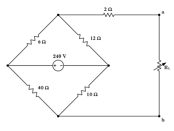 Solved: Given: The Above Circuit. Required: Calculate The