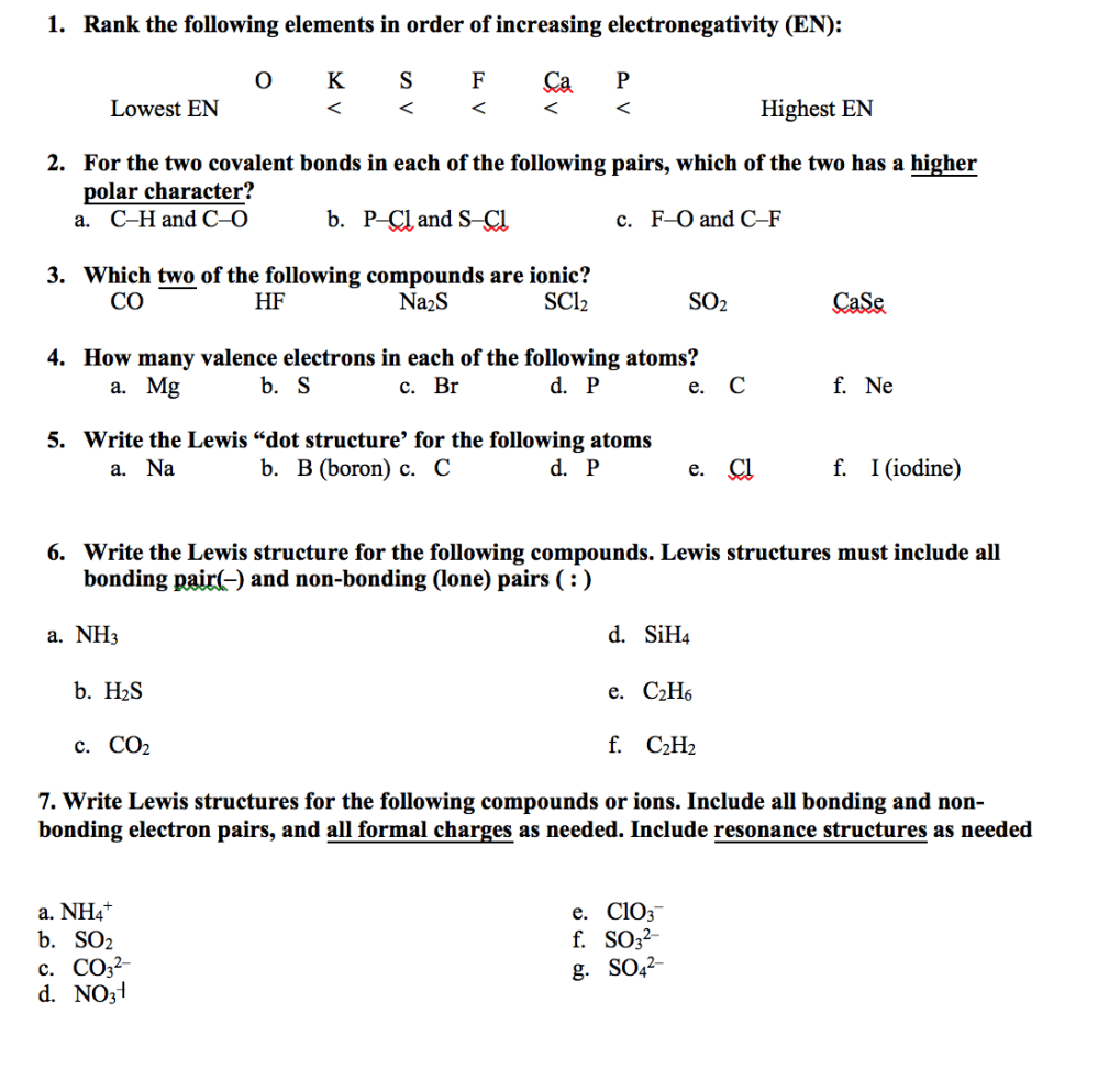 medium resolution of rank the following elements in order of increasing