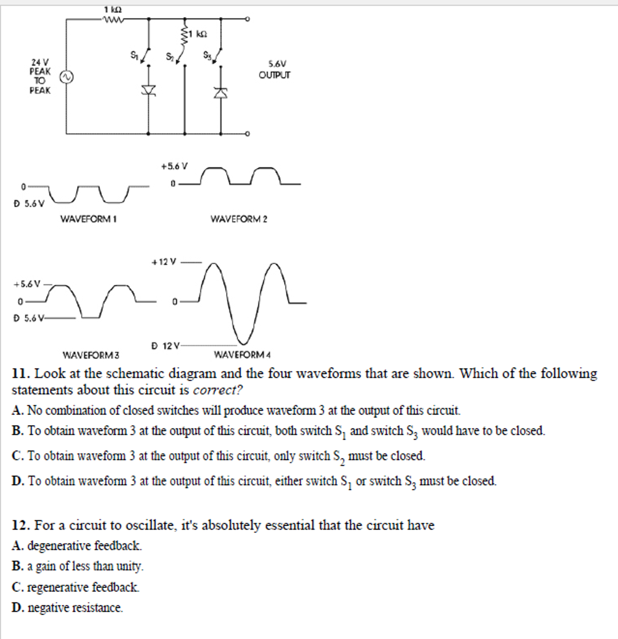 hight resolution of see more show transcribed image text 30 v power supply 25 v 207 v 5 r4 20 v dy 8 in the circuit shown an electronics technician measures the output