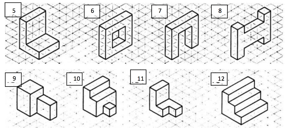 Solved: Create The Orthographic Views Of The Following Obj