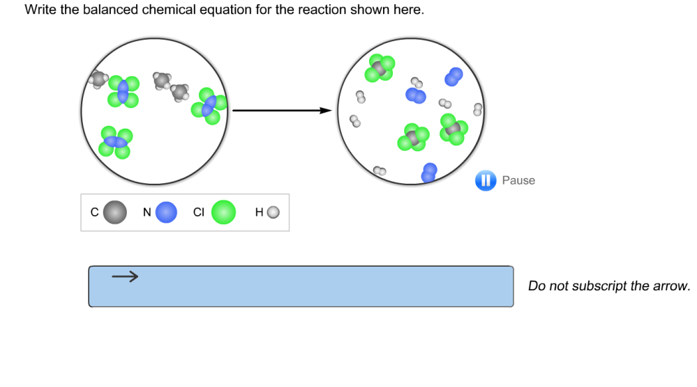 medium resolution of question write the balanced chemical equation for the reaction shown here