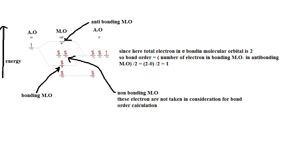 molecular orbital diagram of hf molecule 2001 chevy silverado radio wiring solved the has a single bond between h and f show for this determine order based on mo