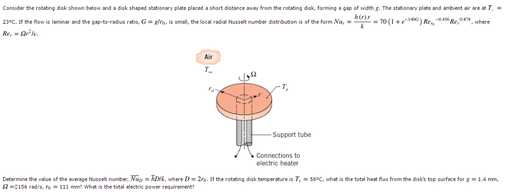 Solved: H = ___ W / M2-K NuD = ____ Q