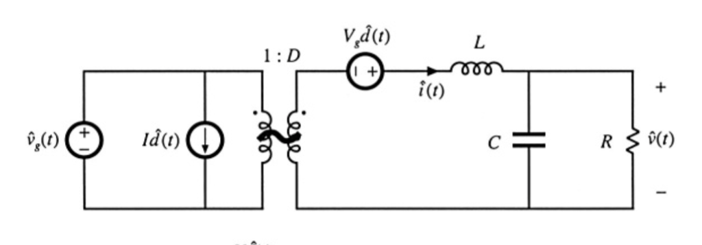 Solved: Convert The Small-signal Model Of The Buck Convert