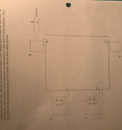 complete the wiring diagram for the room shown below the two outlets on the left [ 1024 x 768 Pixel ]