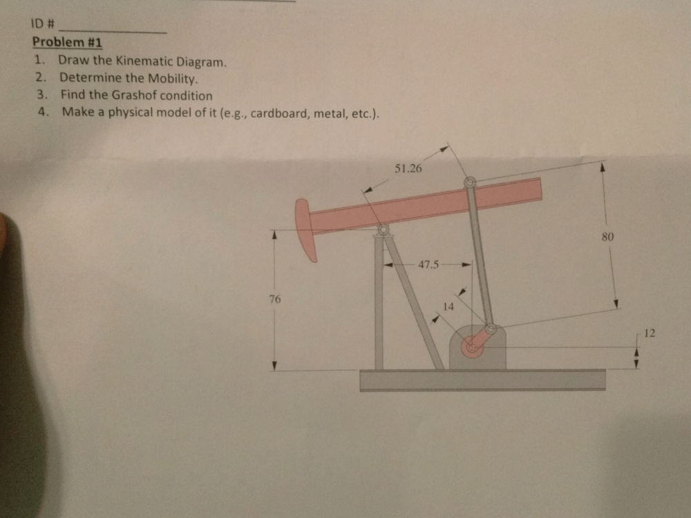 medium resolution of draw the kinematic diagram determine the mobilit