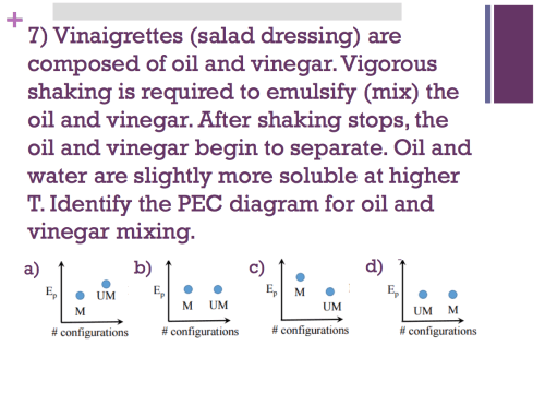 small resolution of 7 vinaigrettes salad dressing are composed of oil and vinegar vigorous shaking