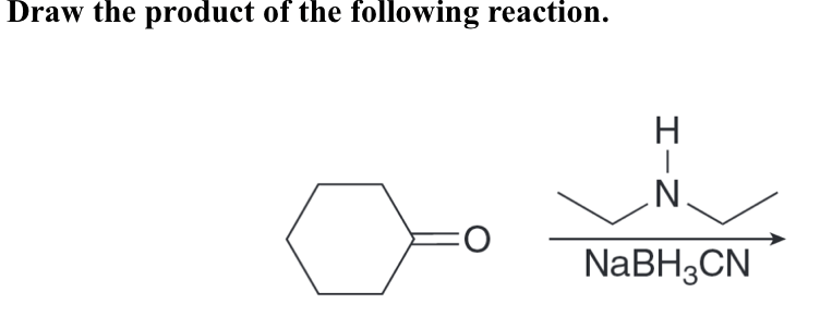 Solved: Draw The Product Of The Following Reaction