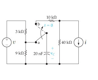 Solved: The Switch In The Circuit Has Been In Position A F