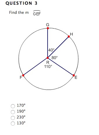 Solved: QUESTION 3 Find The M GEF 170 Degree 190 Degree 23