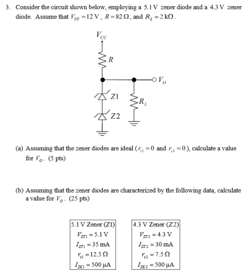 small resolution of consider the circuit shown below employing a 5 1