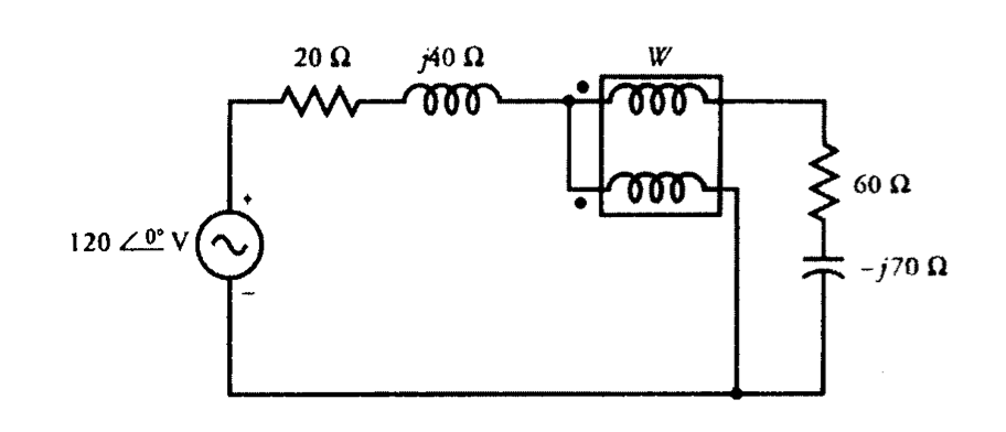 Solved: A Wattmeter Is Connected In A Circuit As Shown In