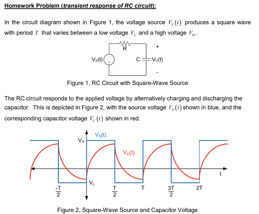 hight resolution of homework problem transient response of rc circuit in the circuit diagram shown in
