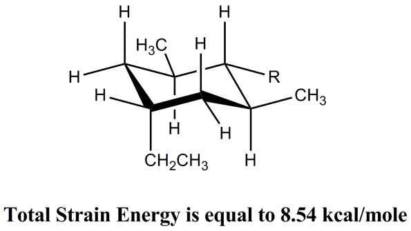 Solved: The Strain Energy (kcal/mole) Of A Single CH3:R Ga